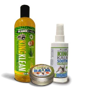 king kanine skin related products
