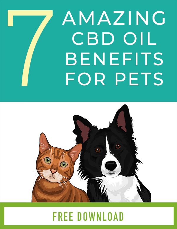 Cover of the ebook on the 7 cbd oil benefits for pets