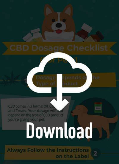 cbd dosage checklist for dogs
