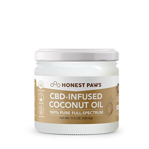 cbd infused coconut oil from honest paws