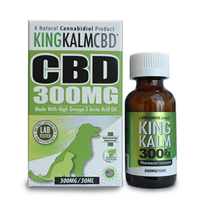 king kalm cbd 300 mg bottle