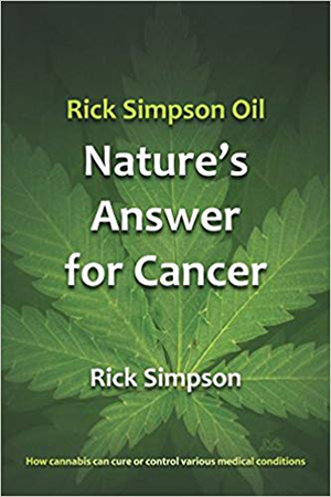 nature's answer for cancer book cover by Rick Simpson