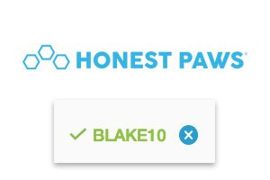 honest paws coupon code